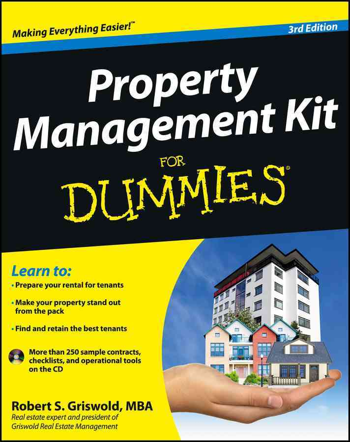 Property Management Kit for Dummies By Griswold, Robert S.